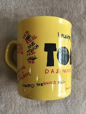 Super Rare The Who Tommy Das Musical Mug In Perfect Condition • 30£