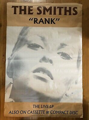 The Smiths Rank Huge Promo Poster 1987 60  X 40  Rare Morrissey Marr • 365£