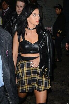 Katy Perry VMA Party Actual Worn Owned Designer Check Skirt & COA / Photo Proof • 185£