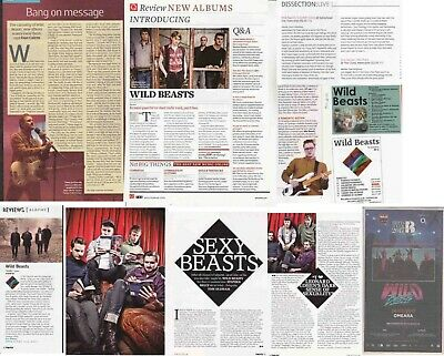 WILD BEASTS : CUTTINGS COLLECTION - Interviews  • 3.50£