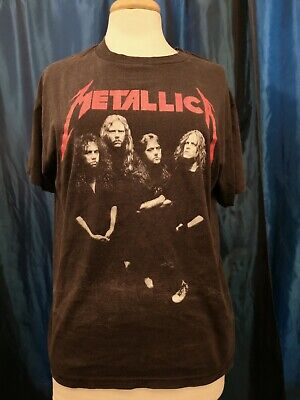 Vintage 1988 Metallica And Justice For All Band Photo RARE T-Shirt  • 99.99£
