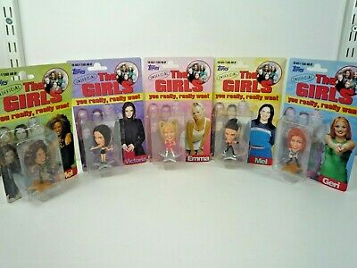 Vintage 1997 Topps The Girls Unofficial Spice Girls Figures Complete Set Of 5 • 39.99£