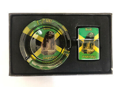 Bob Marley Ashtray And Lighter New Boxed • 5£