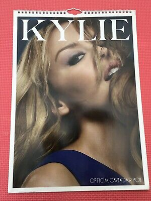 "KYLIE  Official Calender 2011 16.5"" X  11.75"" • 2.99£"