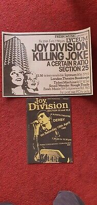 2 Joy Division Promo Posters • 12£