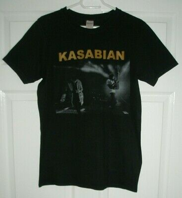 Kasabian For Crying Out Live 2017 European Tour Black M T-Shirt 38 Inch Chest • 19.99£