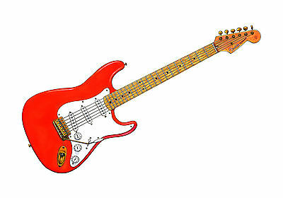 Hank Marvin's Fender Stratocaster POSTER PRINT A1 Size • 34.90£