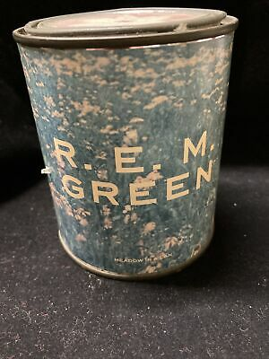 REM Green Promo Item Medow In A Can 1989 Rare  • 71.53£