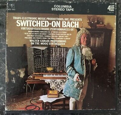 Switched-On Bach. Reel To Reel 7 1/2 IPS Trans-Electronic Music Productions, • 25.99£