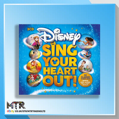 Disney Sing Your Heart Out! (CD) • 4.90£