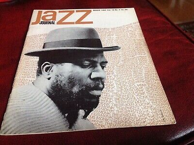 JAZZ JOURNAL.  MARCH 1965.  Thelonios Monk Cover • 6£