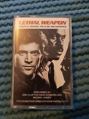 Lethal Weapon Motion Picture Soundtrack Tape Cassette 1987 • 7.50£