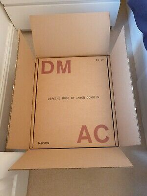 Taschen XXL Anton Corbijn Depeche Mode DM AC 81-18 Signed Book. Very Limited.  • 1,995£