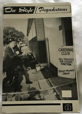 The Style Council Christmas Card To Fan Club Members Circa 1984/85 Used Rare • 10£
