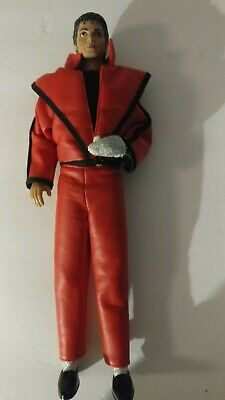 Michael Jackson Action Figure Doll Thriller Outfit Red 1984 Vintage Collectible  • 10.74£
