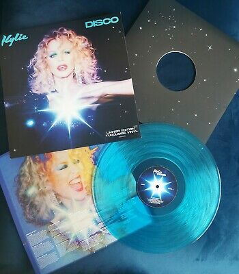 Kylie Minogue Disco Turquoise Limited Edition Vinyl  • 10.50£