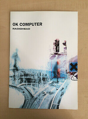 Radiohead OK Computer Original A4 4 Page Promotional Campaign Brochure (1997) • 0.99£