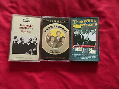 Bundle Of 3 The Mills Brothers Music Cassettes. • 3.99£