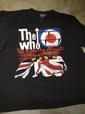 The Who, Kids Are Alright T-shirt Xl, VG • 5.11£
