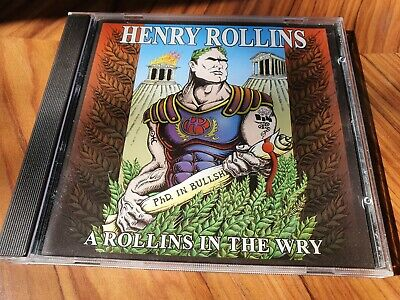 Henry Rollins - A Rollins In The Wry CD • 2.99£