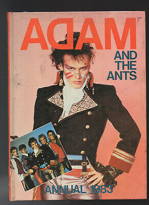 Adam And The Ants Annual 1983 - Retro Hardback Book • 1£