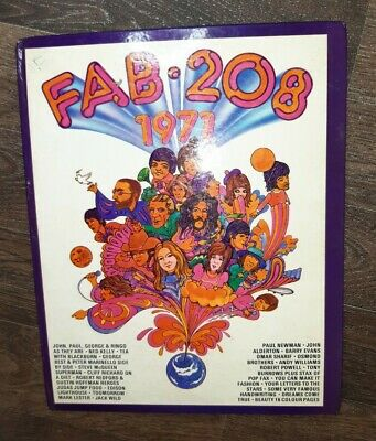 FAB 208 1971 ANNUAL Good Condition  • 0.99£