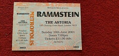 Rammstein THE GIG THAT NEVER HAPPENED.. • 28£