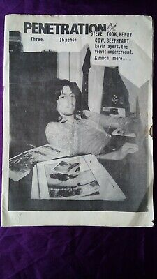 PENETRATION PROG ROCK MAGAZINE ISSUE 3. 28 PAGES 1970s. **VERY RARE** • 50£