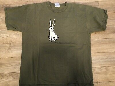 Vintage R.E.M. Band T-Shirt Original 1999 REM-033 Tour Tee Rare Rabbit Design XL • 42.92£