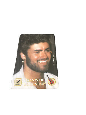 George Micheal Phonecard • 1.50£