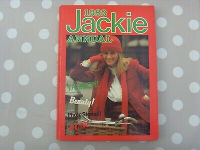 Jackie Annual Hardback 1983 Unclipped Vg Condition For Its Age • 2.99£