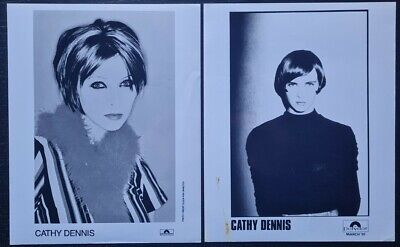Cathy Dennis Promo Photos (X2) - Polydor Records • 6£