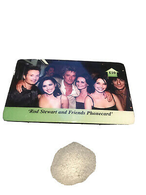 Rod Stewart And The Coors Phonecard • 1.50£