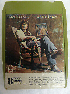 8 Track Tape David Cassidy  Rock Me Baby  • 4.99£