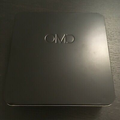 OMD — English Electric — Numbered & Signed Deluxe 2CD+DVD+7  Metal Tin Box Set • 129.99£