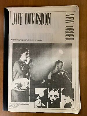 Joy Division - A History In Cuttings Volume 1 - 140 Pages - Ian Curtis  Factory  • 44.95£