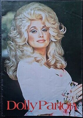 Dolly Parton UK Tour Programme From 1977 • 14£