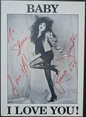 Ronnie Spector Signed Promo Card - The Ronnettes - Baby I Love You • 50£