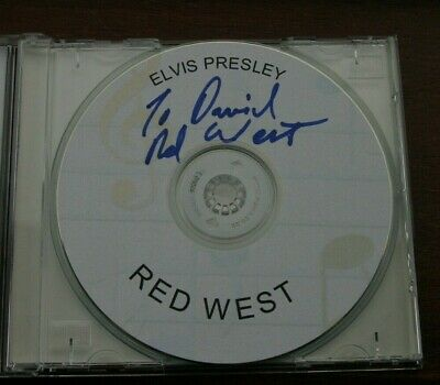 Elvis: Red West Telephone Call CD Signed By Red West • 35£