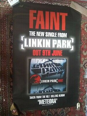 Linkin Park Record Release Poster 2003 Original Poster • 25£