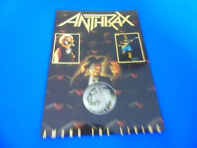 Anthrax Postcard Promoting Their Album - Among The Living (Style 2) • 1.85£