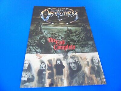 Obituary Postcard Promoting Their Album - The End Complete • 1.85£