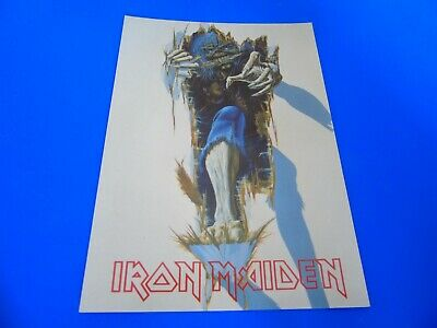 Iron Maiden Postcard (Style Two) • 1.85£