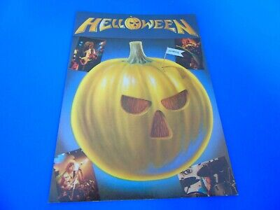Helloween Postcard Promoting Their EP - Judas • 1.85£