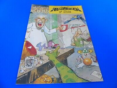 Helloween Postcard Promoting Their Single - Dr. Stein. • 1.85£