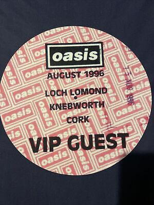 Oasis Knebworth / Loch Lomond / Cork Slipmat Ltd Edition Official Store Release • 24.99£