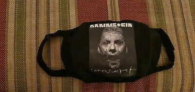 Rammstein Face Mask. Washable. • 7£