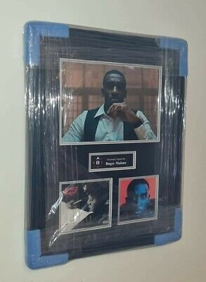 Bugzy Malone Signed 16x20 Cd Cover Display Aftal • 100£