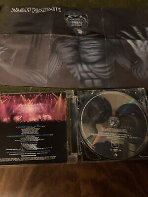 Iron Maiden Different World DVD With Poster  • 1.60£