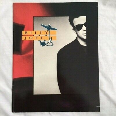 Billy Joel Programme And Ticket Stubs • 14.95£